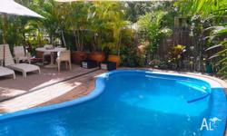 A room big enough for a couple located in Darwins CBD,