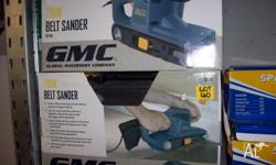 Brand New GMC Belt Sander 710W with Dust Extractor Bag