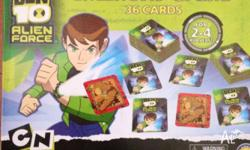 I'm selling a Ben 10 Memory Game which my son may have