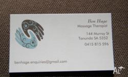 - Relaxation Massage - Therapeutic - Sports/Deep Tissue