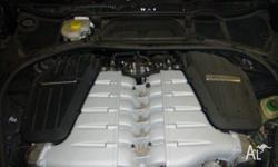 bentley continental gt 2008 engine complete 6.0l w12