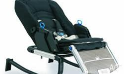 - The Z series Gliding Seat features multipostion back,
