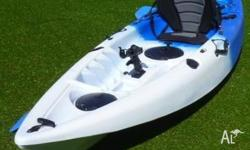 Includes the kayak plus paddle plus the deluxe padded