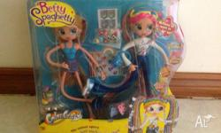 Brand new in box Betty spaghetty,came apart,cames with