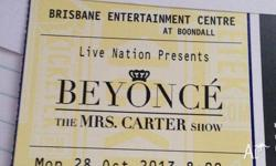 Selling spare Beyonce ticket for The Mrs Carter Show.