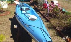 Selling 1 x 14 foot Bic Kayak. This Kayak is blue and