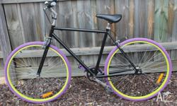 Bicycle / Bike � Fixie -Freewheel 700cm. A really cool