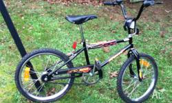 Bicycle for boy aged 4 to 7, fully serviced this year,