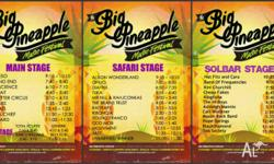 I have 2 tickets to sell for the Big Pineapple Music