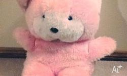 Product: Big Pink Bear Price: $4.00 Condition: Used