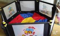 Valco VeeBee play yard play pen Clean item in excellent