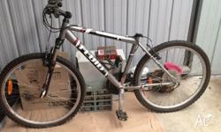 Fluid bike in used condition. Needs seat & handle