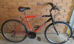 Gents mountain bike 18 speed, excellent condition