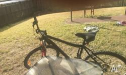 I sale my bike because I'm leave from Gatton , it walk