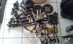 hello i have a heap of spear bike parts for sale im in