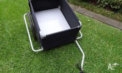 Up for sale is a used bike trailer. It is very easy to