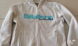 White billabong jumper. Has been previously worn.