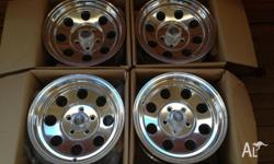 "* Brand new in box * 4 Rims all 15"" x 7"" * Purchased"