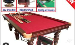 Title: BILLIARD TABLE POOL SNOOKER TABLE 8FT Short