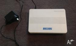 Hi Guys, Offering for sale a Billion Router Modem. Was