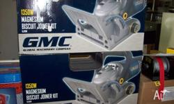 Brand New GMC Biscuit Joiner, 1350W Magnesium. Limited