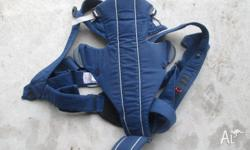 Bjorn baby carrier in good condition. Can be used from