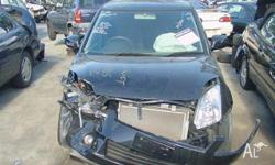 black 06 swift hit in front all electrics good windows