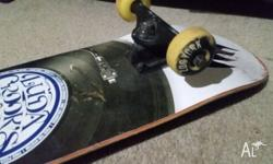 Black label board, Zoo York wheels, Abec 9 bearings,