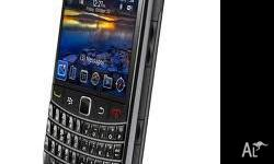 Black Berry Bold 9700. New Un-used Comes with AC