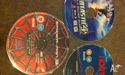 3 bluray movies for sale Fantastic 4 - Rise of the