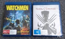 For Sale I have two Blu Ray Movies. One is Watchmen and