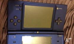 Im selling a Blue DSi with a charger and 6 games. The