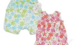 Size - 12 months Green/Blue floral romper suit Very