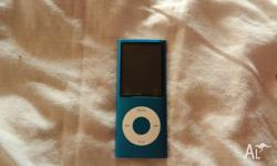 Im selling a blue ipod due to i dont use it at all.