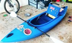 Blue SeaK 9ft Sit-in Kayak, Have done plenty to make