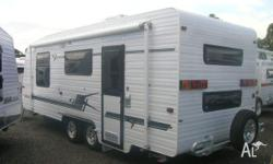 BLUE SKY FAMILY TOURER FAMILY CARAVAN BUNKS, 2011,