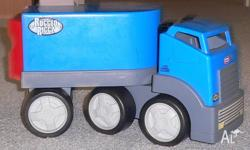 Blue truck by Little Tickes 20 x 33 cm You can ride on