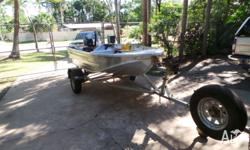 Bluefin 3.4 meter drifter boat near new would suit new