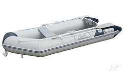 Inflatable boat/tender & Electric trolling motor for