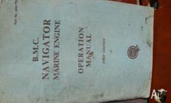BMC Navigator Marine Engine Operation Manual First