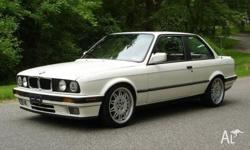 bmw 318i e30 1990 rear wheel drive petrol auto 4 & 6