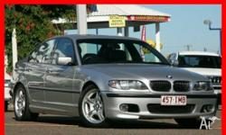 BMW,325i,E46 MY2004,2004, Silver, Sedan, 2.5L, Petrol -