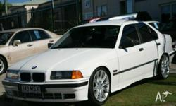 BMW,3,1994, RWD, White, 4D SEDAN, 1796cc, 85kW,