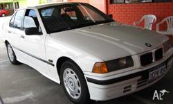 BMW, 3, 1992, 4D SEDAN, 2, 6cyl, 5 SP AUTOMATIC, 320i