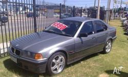 BMW,3,E36,1993, Rear Wheel Drive, Charcoal, GREY trim,