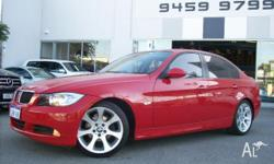 BMW,3,E90,2005, RWD, RED PERTH WA, 4D SEDAN, 1995cc,
