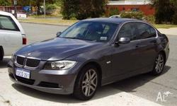 BMW, 3, 2006, 4D SEDAN, 2.5, 6cyl, 6 SP AUTOMATIC