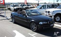BMW,3,2000, 2dr CONVERTIBLE, 3, 6cyl, 5sp AUTOMATIC