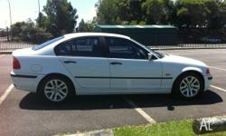 Bmw 318i E46 1998 5 speed , 2nd owner from new , alloy
