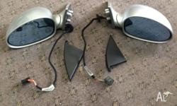 Genuine BMW Silver E46 M3 Side mirrors. Very good